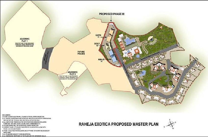 Raheja Reflection Serenity Layout Plan