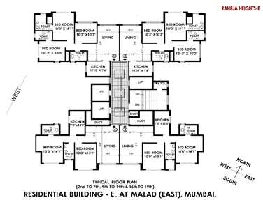 2398 Oth Floor Plan - Interface Heights, Malad West