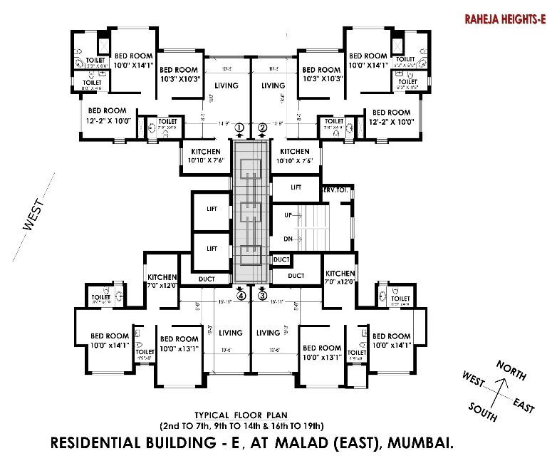 Interface Heights Floor Plan