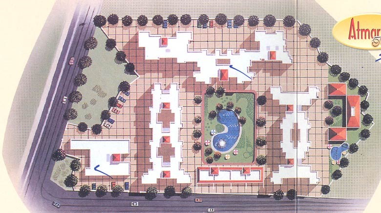 Krishna Residency Lay Out