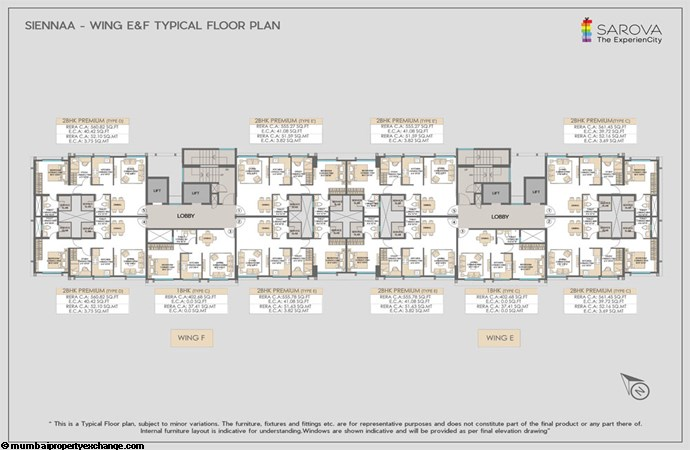 Sarova Sienna Wing E F-Typical-floor-plan