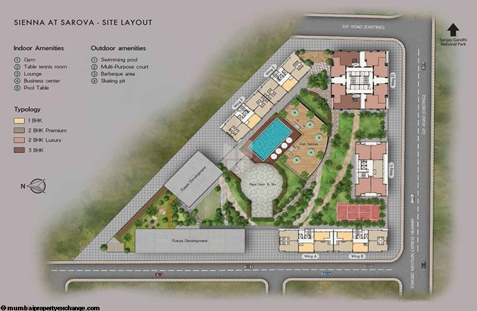 Sarova Sienna at Sarova Site Layout