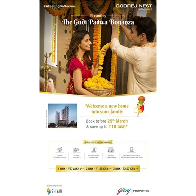 Godrej Nest, Kandivali East by Godrej Properties