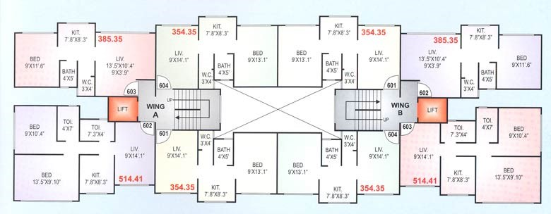 Thermal 6th and 7th Floor Plan