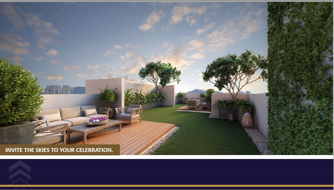 Satellite Elegance Roof Top Amenity