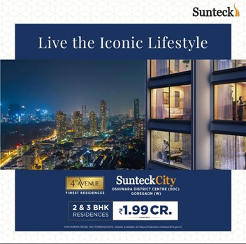 Sunteck City Avenue 4 by Sunteck Realty Limited
