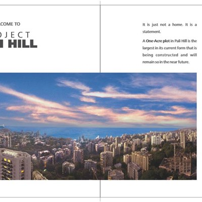 Pali Hill, Bandra West by Ahuja Constructions
