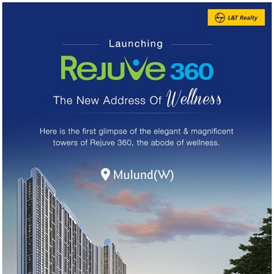 REJUVE 360, Mulund West by L and T Realty
