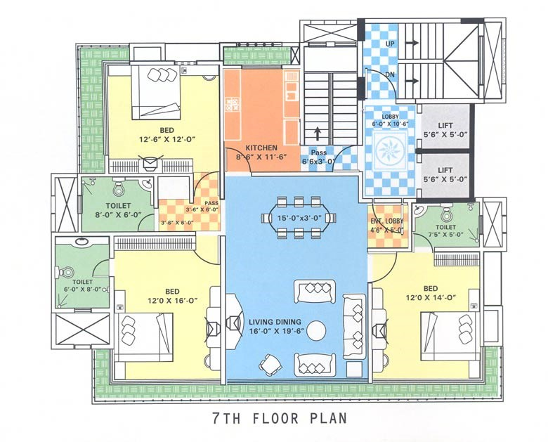 Emporis 7 floor Plan