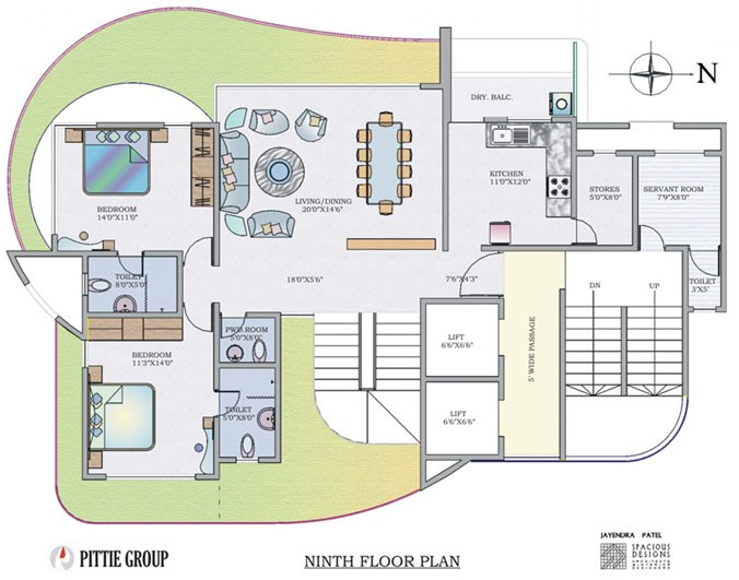 Victoria Elegance 9th Floor Plan