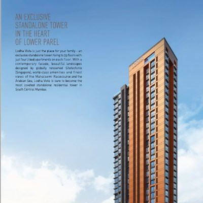 Flat for sale in Lodha Vista, Lower Parel