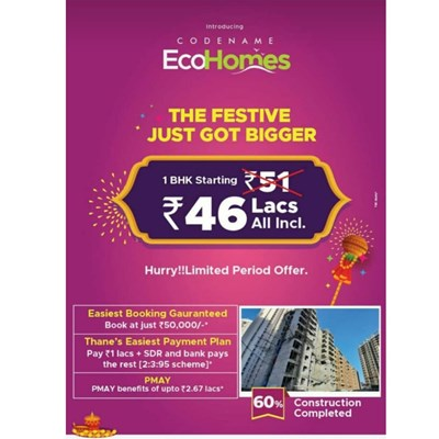 Codename EcoHomes, Thane West by Vihang Realty