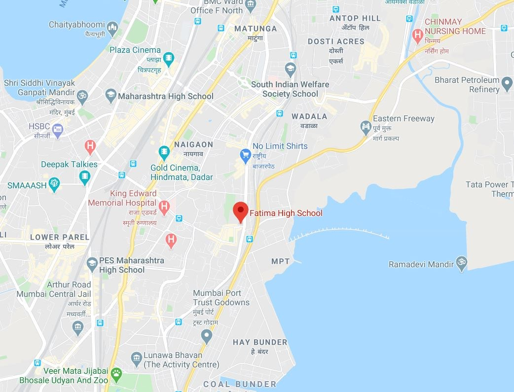 Shapoorji Sewri Location Map