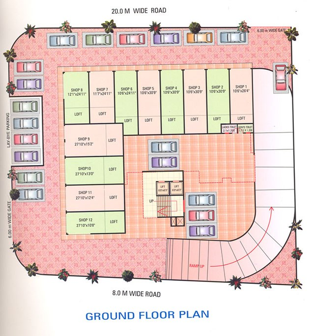 Poonam Tower layout