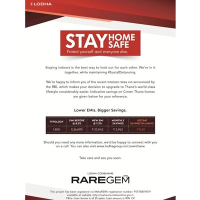 Lodha Codename RAREGEM, Thane West by Lodha Group