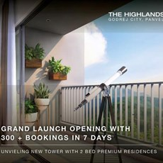 Godrej - The Highlands  New Panvel by Godrej Properties
