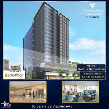 The Multipolis Business District by Wadhwa Group