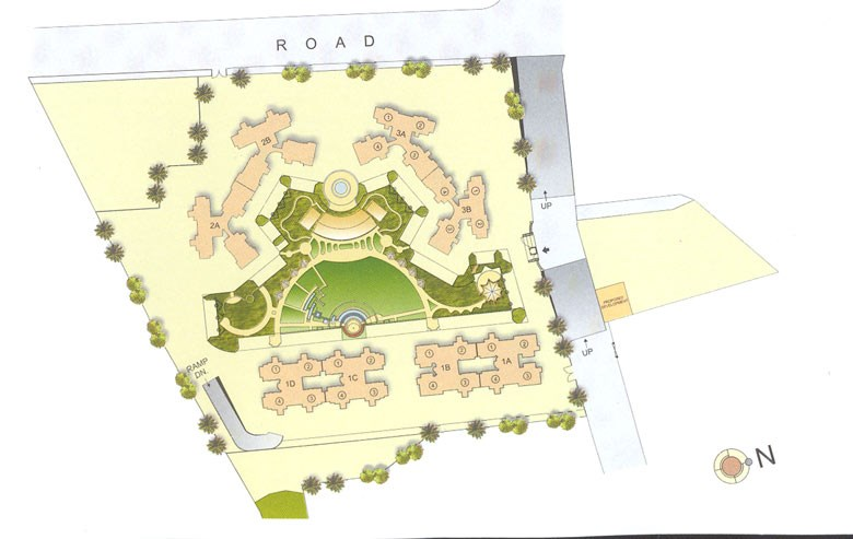 Kalpataru Estate Phase VI Layout