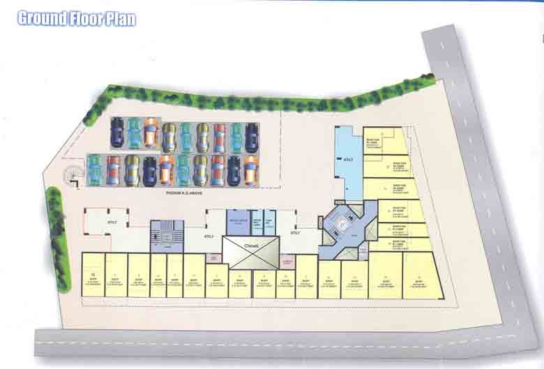 Atlantis Apartment Ground Floor Plan