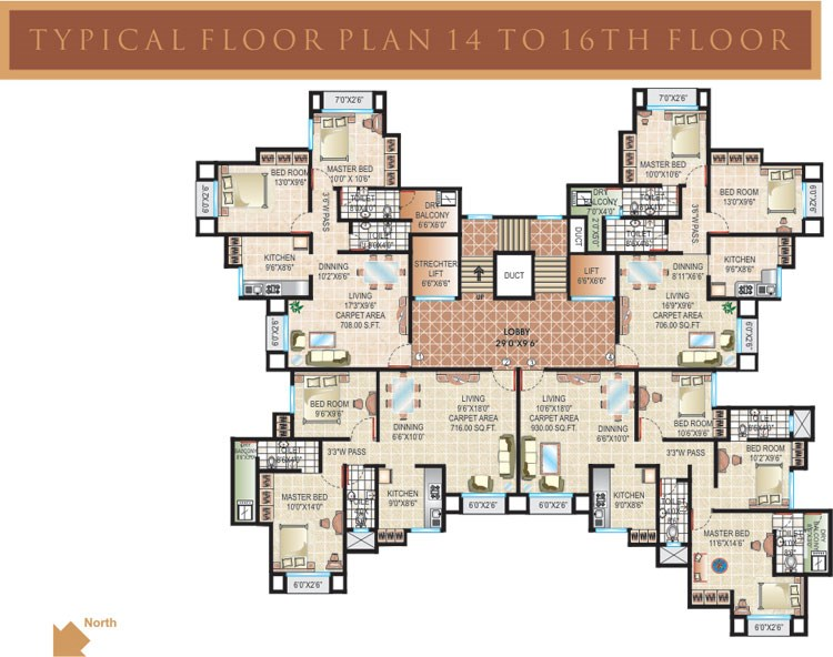 Sankalp Heights Floor Plan I