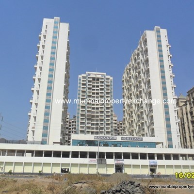 Flat for sale in Mahaavir Heritage, Kharghar