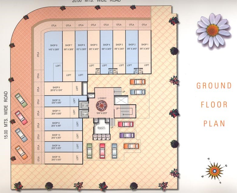 Mayflower Ground Floor Plan