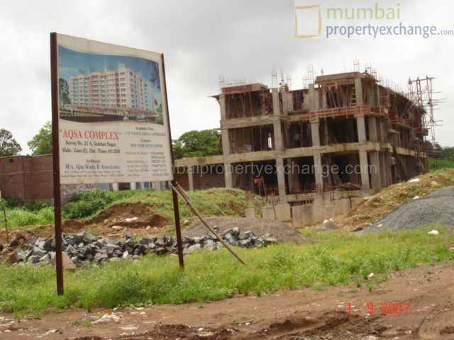 Flat for sale or rent in AQSA COMPLEX, Vasai