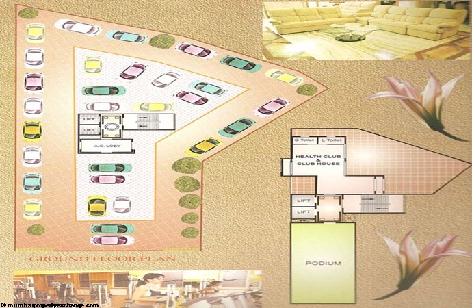 Moreshwar Aangan Ground Floor Plan