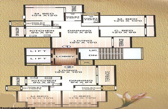 Moreshwar Aangan Odd Floor Plan
