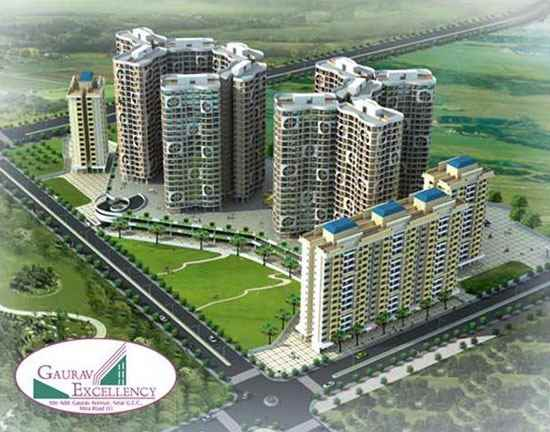 Flat for sale in Gaurav Excellency, Mira Road