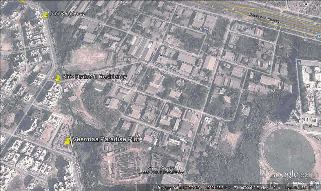 Juhi Residency Google Earth