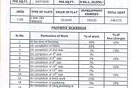 3321 Oth Payment Schedule - Ganesh Plaza, Kamothe
