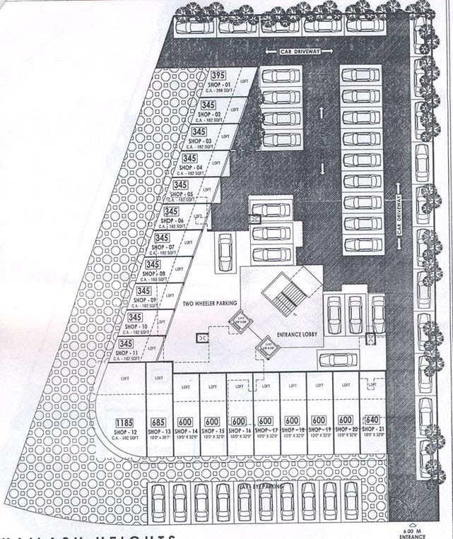 Kailash Heights Ground Floor Plan
