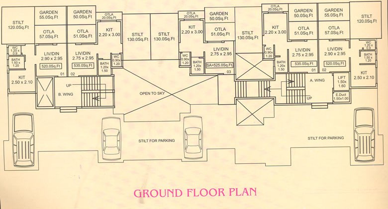 Sai Aangan Ground Floor Plan