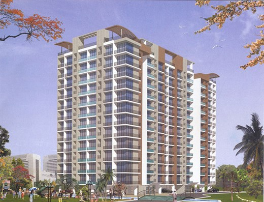Flat on rent in Lok Raunak, Andheri East