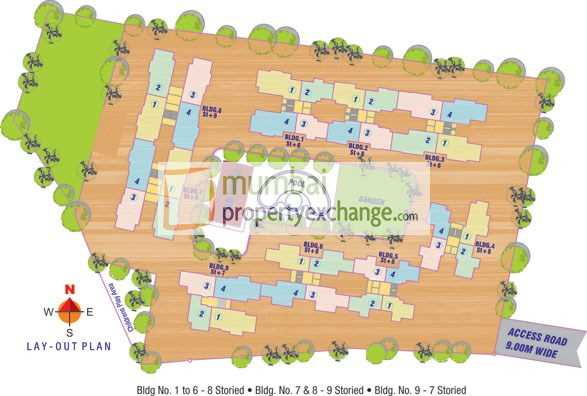 3475 Oth Layout - NG Paradise, Mira Road