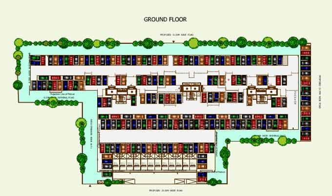 Sea Queen Excellency Ground Floor Plan
