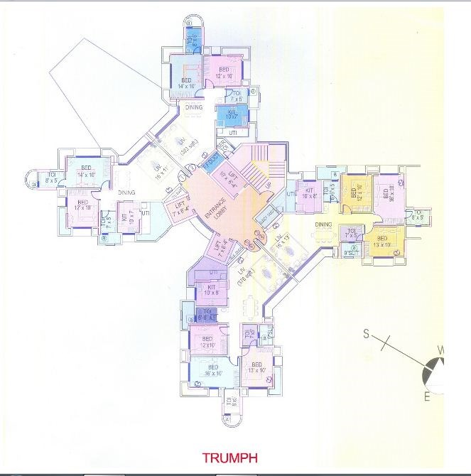 Thrill and Triumph Triumph Floor Plan