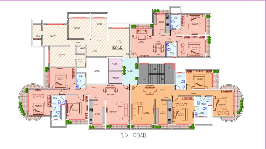 Natraj Floor plans