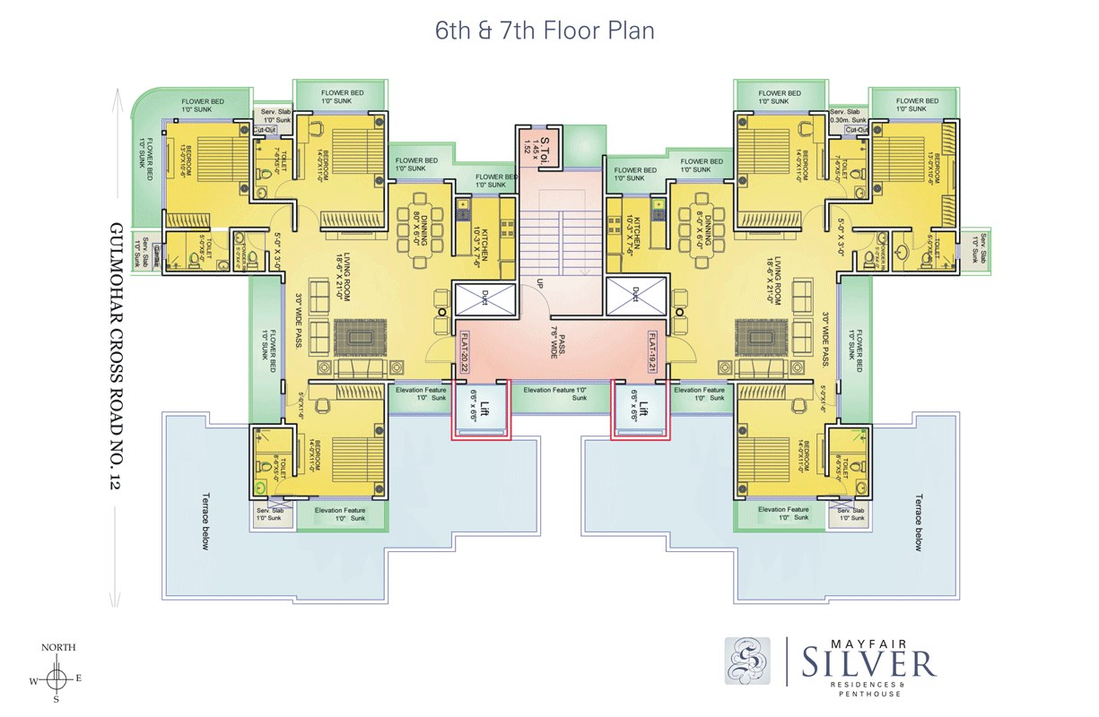 Mayfair Silver Floor Plan 1