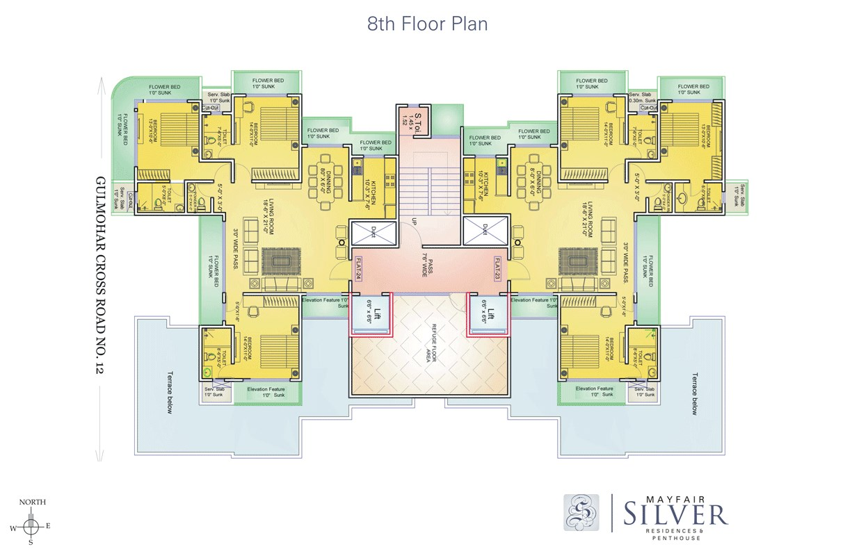 Mayfair Silver Floor Plan 2