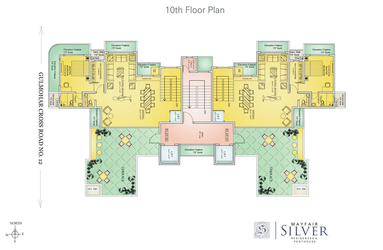 Mayfair Silver Floor Plan 4