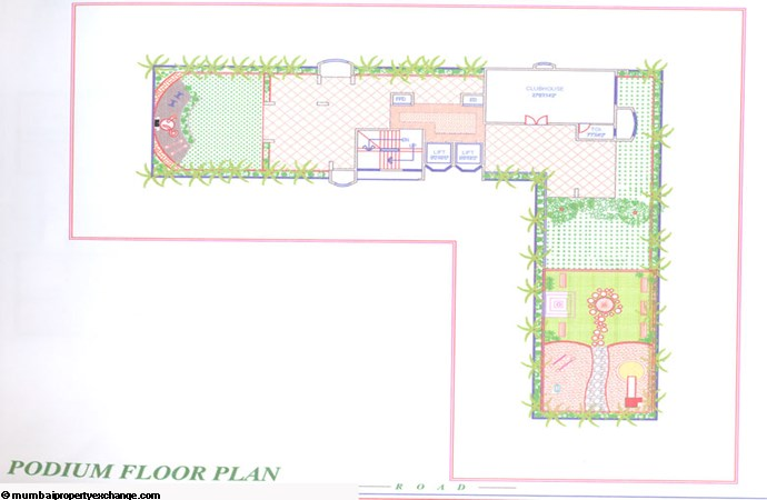 Sadguru Prism Podium Floor Plan