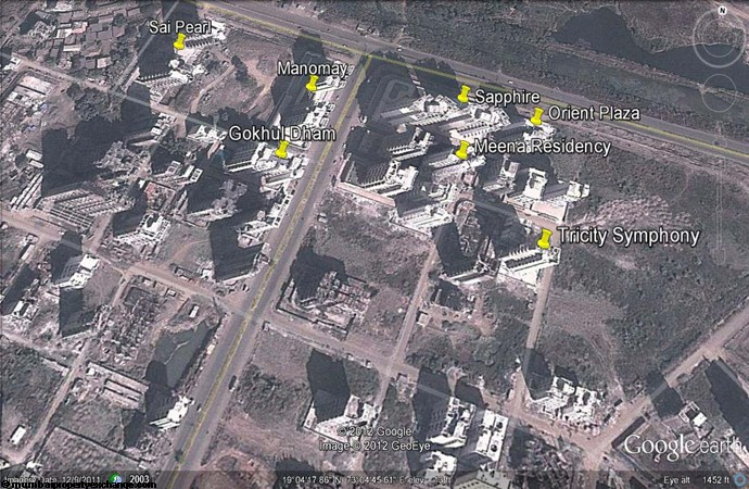Orient Plaza Google Earth