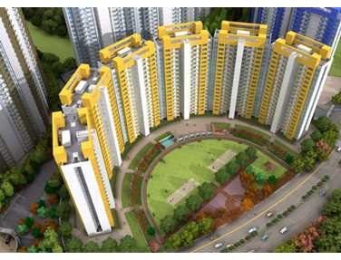 Flat on rent in Lodha Splendora Phase  I, Thane West