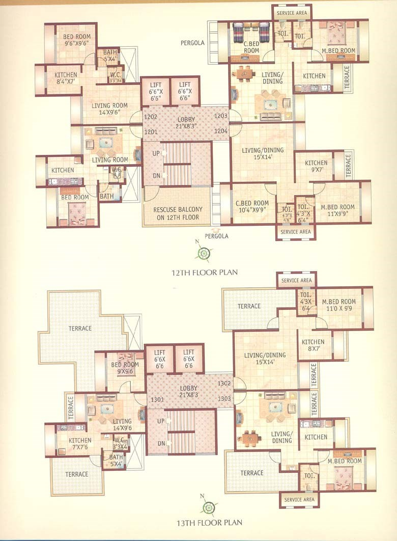 Dolphin Platinum Floor Plan I