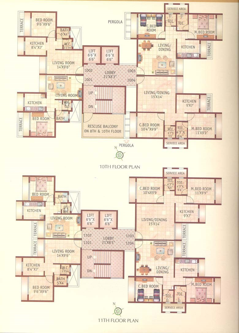 Dolphin Platinum Floor Plan II