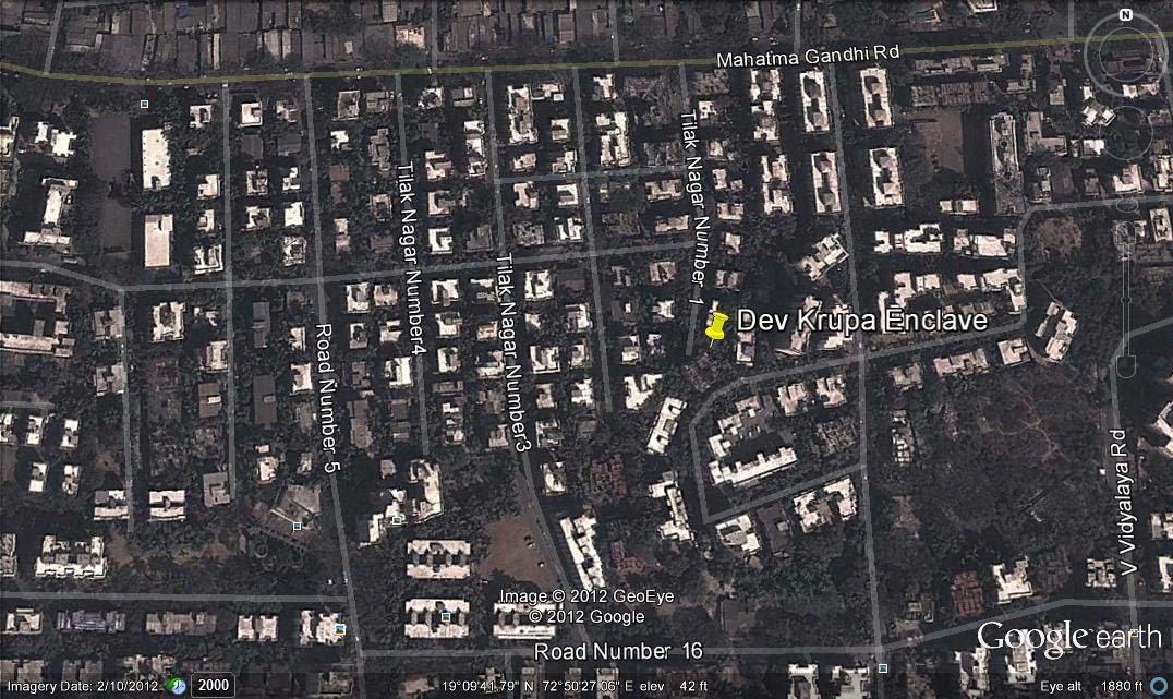 Dev Krupa Enclave Google Earth