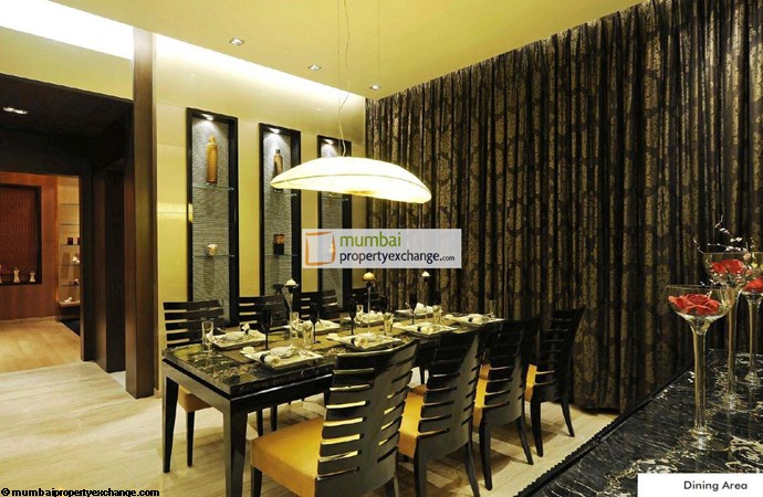 Kalpataru Pinnacle Dining Room