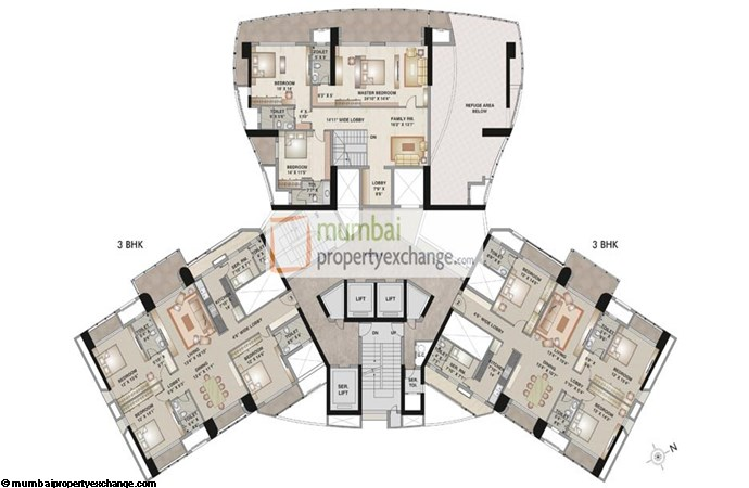 Kalpataru Pinnacle Floor Plan